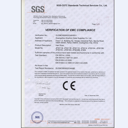 电吹风CE认证