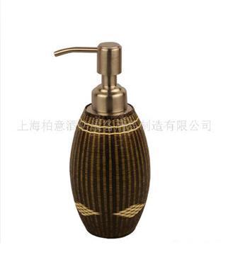 竹锦皂液瓶