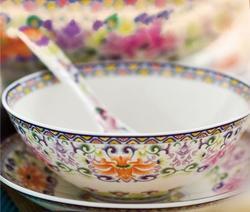 红粉世家-成套餐具