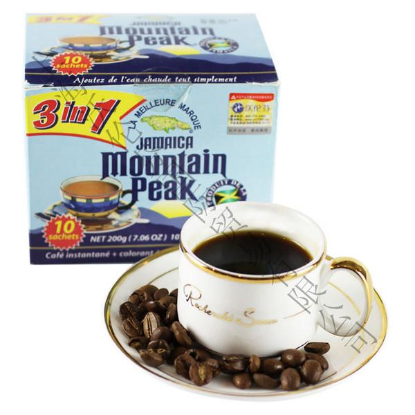 牙买加摩品三合一速溶咖啡粉 200g