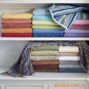 五颜六色毛巾