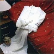 漂白割绒绣徽浴衣