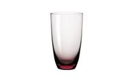 淡紫色直身高杯
