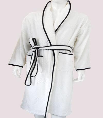 割绒平纹提花浴衣 LQ0702