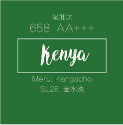肯尼亚咖啡生豆水洗微批次658