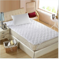 厂家直销 浩博 交织棉床护垫 优雅清逸宾馆酒店床护垫 多规格