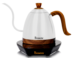 Brewista Artisan 600ml细长嘴可调温不锈钢电水壶