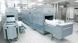 MEIKO M-iQ 带式洗碗机 - 清洗技术的未来
