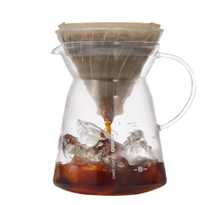 HARIO日本进口 V60冷热手冲咖啡一体壶