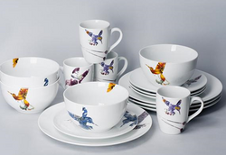 餐具Flutter - 16pc Bundle for 4 People - Western (FLR)