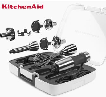 kitchenaid 5KHB2569C多功能手持家用不锈钢料理棒辅食KA料理机