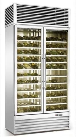 订制 不锈钢红酒柜
