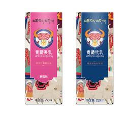 包装设计案例欣赏——青藏牦牛乳