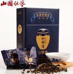山国饮艺 茶叶 铁观音 乌龙茶 浓香型铁观音 礼盒装 山国香S1300