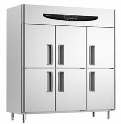 GX1.6L6SF超豪华工程款X系列风冷六门双机双温铜管冰箱
