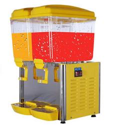 科酷电器双缸果汁机商用饮料机意卡芙饮料机双温自助奶茶机喷淋