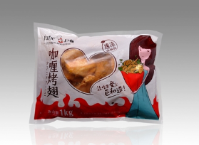 巨和 咖喱烤翅 1000g 11对*1KG*10包/件