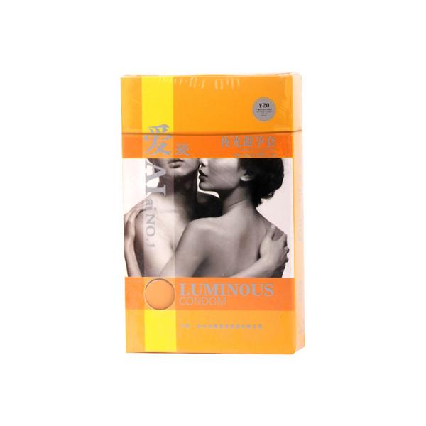 爱爱夜光避孕套  dcp012