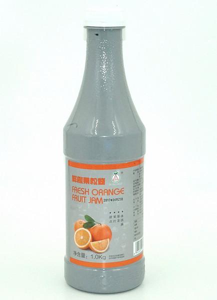果汁果浆-鲜橙果粒酱