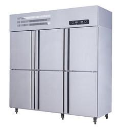 六门双机双温冰箱
