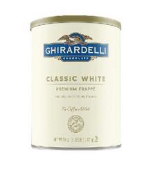 白巧克力味调味冰沙粉