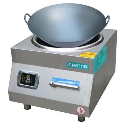 8KW/10KW台式凹面炒炉