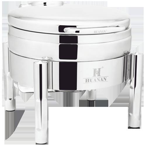 圆型液压式钢盖高级餐炉