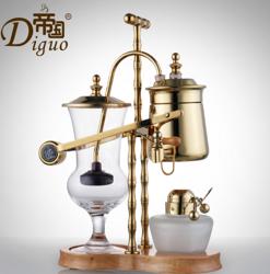 帝國金色 比利時咖啡壺