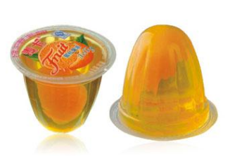 麦卡蜜桔果肉果冻