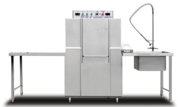 HIGHT-C100单缸单喷淋隧道式洗碗机