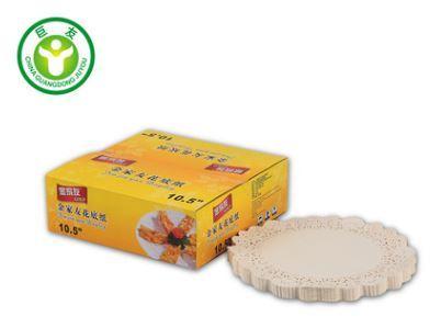 圆形花底纸垫 蛋糕纸垫 吸油点心纸 烧烤烘焙专用纸油纸