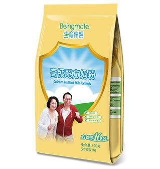 生命伴侣高钙配方奶粉