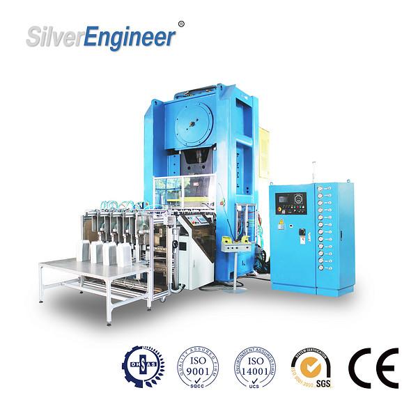 全自动铝箔容器生产线高精度铝箔容器压力机冲床