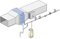 TRION 带水洗厨房油烟净化系统