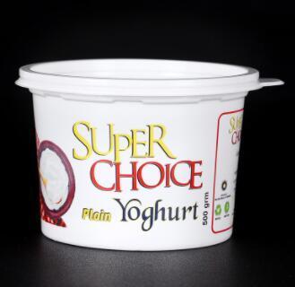 大口径PET酸奶碗