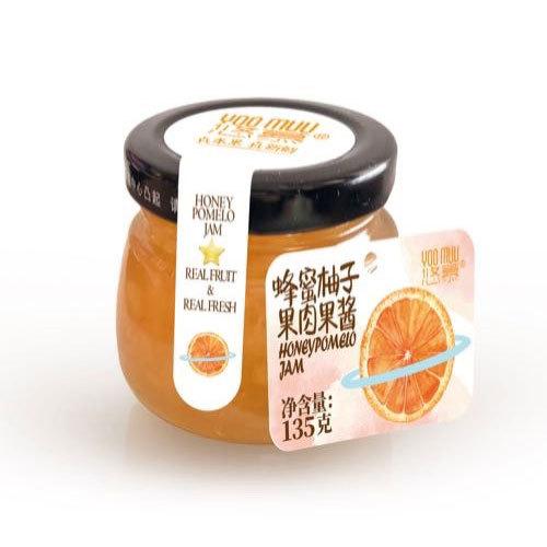 蜂蜜柚子果肉果酱