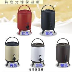 奶茶店双层保温保冷烤漆奶茶桶