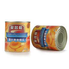 黄桃大颗粒糖水黄桃罐头850g