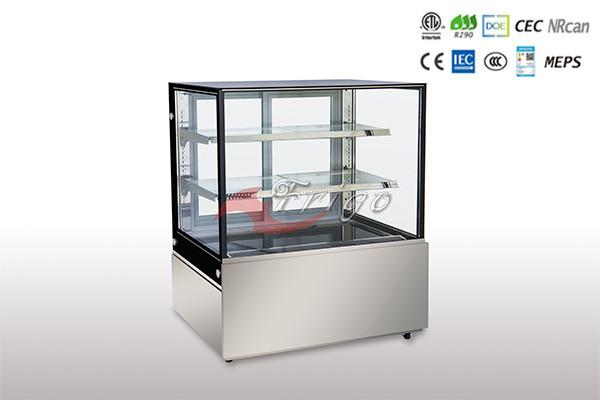 1.5系列直角冷藏展示柜带两层搁架 1.5 Version Square Cold Showcase with two shelves (FGDG1.5A-900LS)