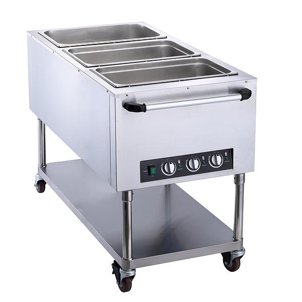 3盘手推保温餐桌FZ-07C