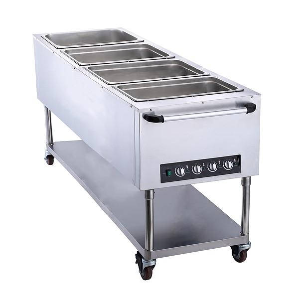 4盘手推保温餐桌FZ-07D