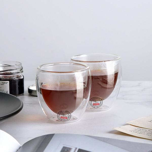 Bodum 双层玻璃杯 4557-10(80ml)2只装