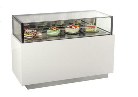 直角单层甜品展示柜