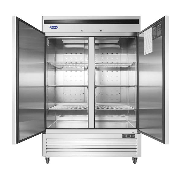 美款底置式大二门冷冻冰箱MBF8503GR