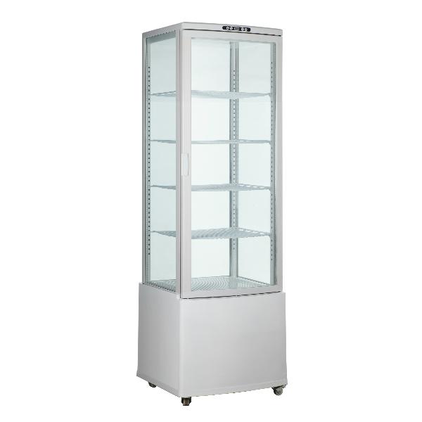 四面玻璃冷藏展示柜