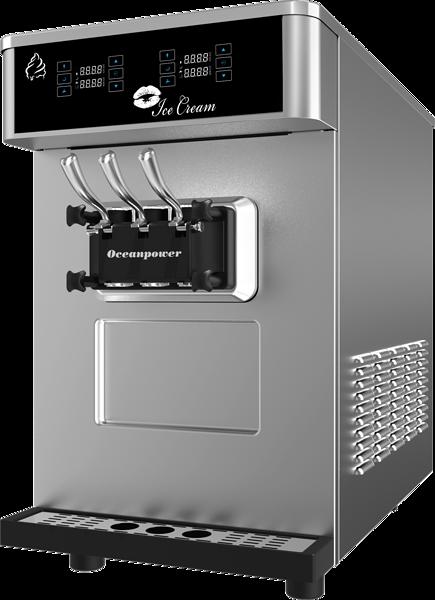 台式双控软冰淇淋机DW132ETC