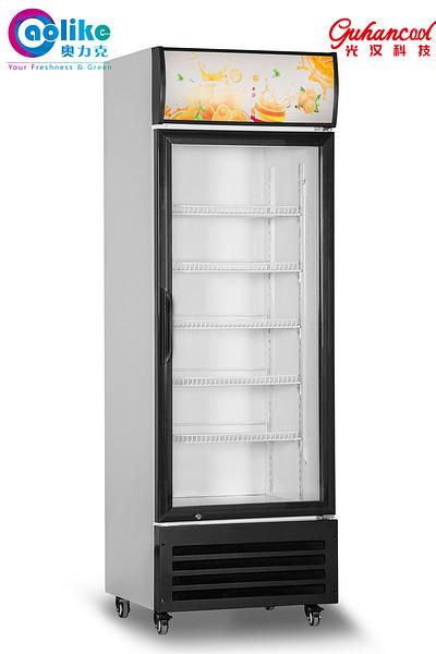 商用立式单开玻璃门冷柜