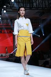 秋季奶茶店员工制服衬衫围裙定制