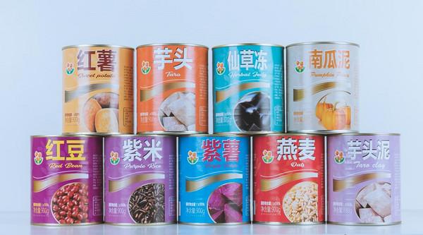 香园罐头系列产品