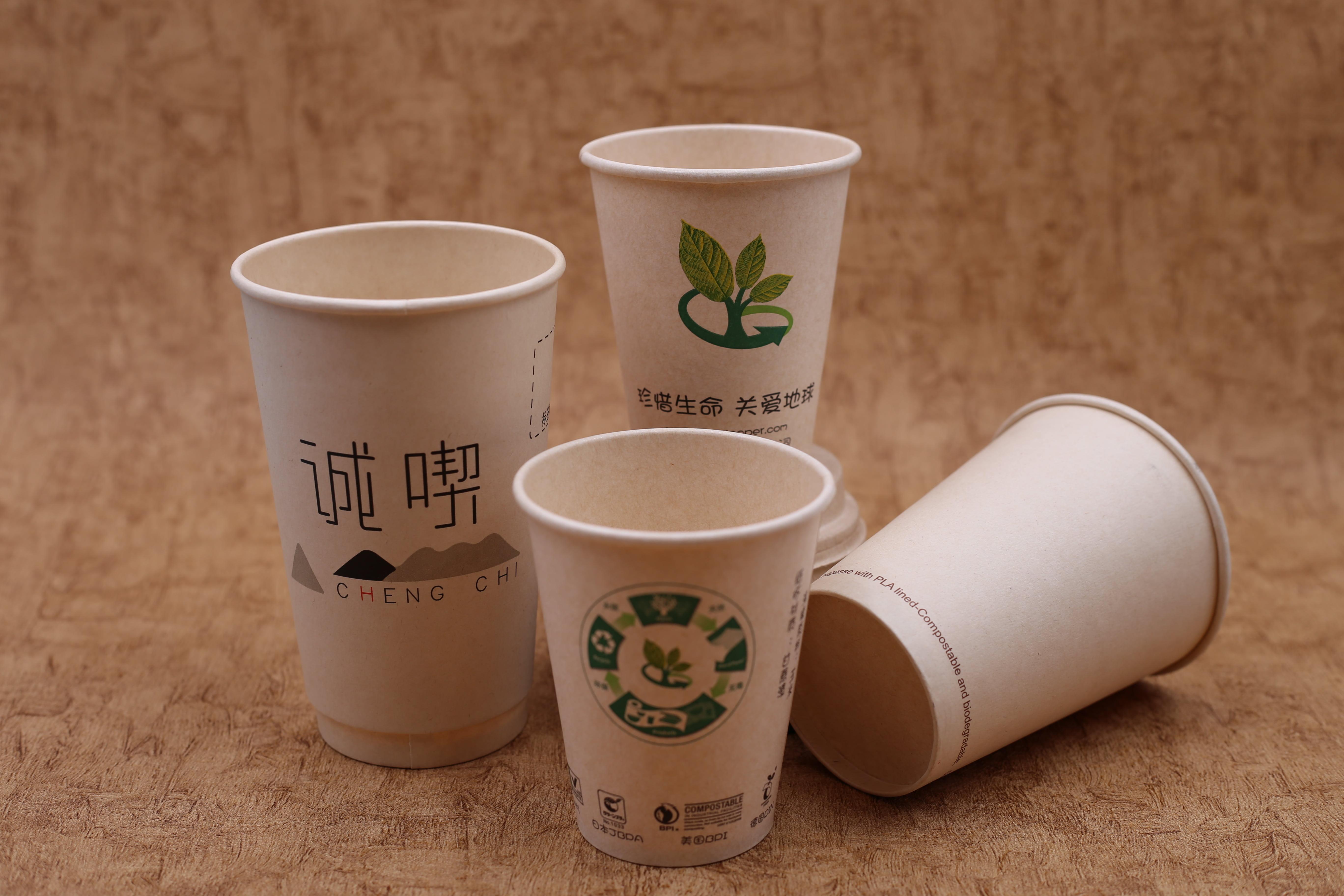 PLA環保蔗渣杯
